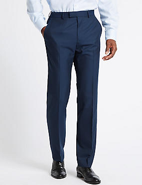 Big & Tall Indigo Slim Fit Trousers