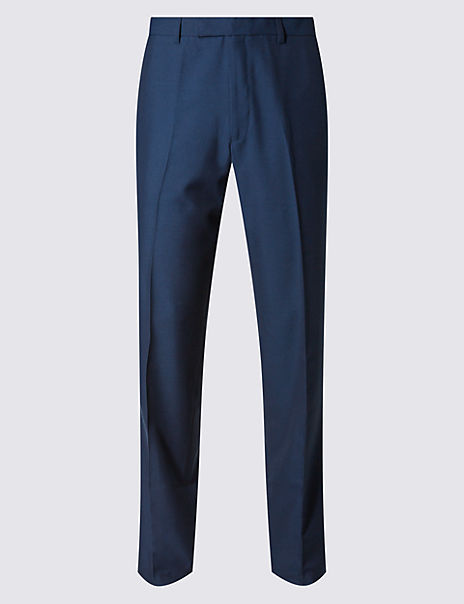 Big & Tall Indigo Slim Fit Trousers