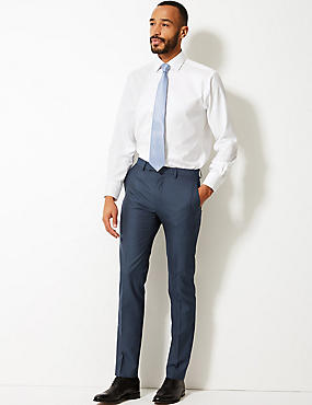 Indigo Modern Slim Fit Trousers