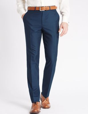 Indigo Regular Fit Trousers