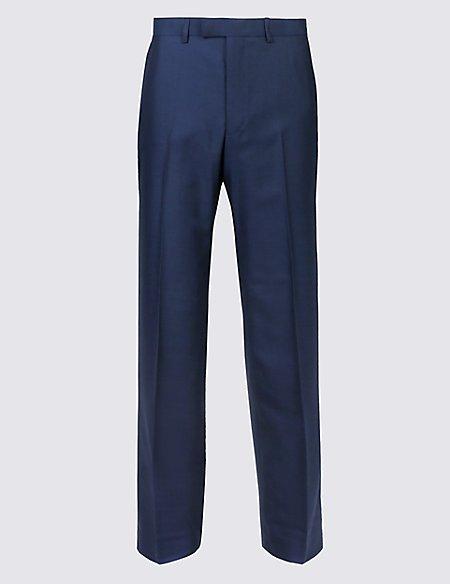 Indigo Regular Fit Trousers