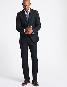 Big & Tall Navy Tailored Fit Suit