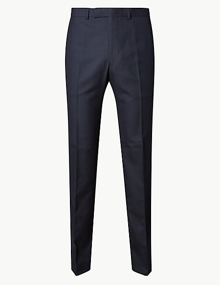Big & Tall Navy Tailored Fit Trousers