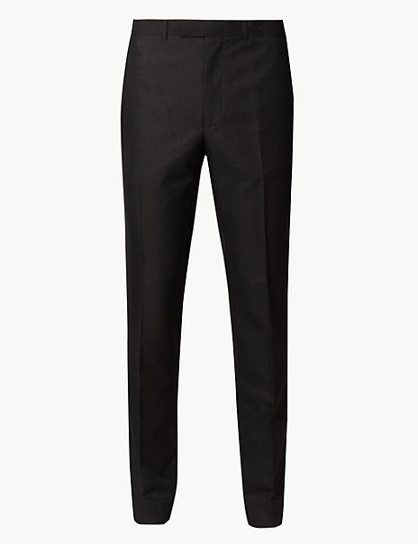 Charcoal Slim Fit Trousers