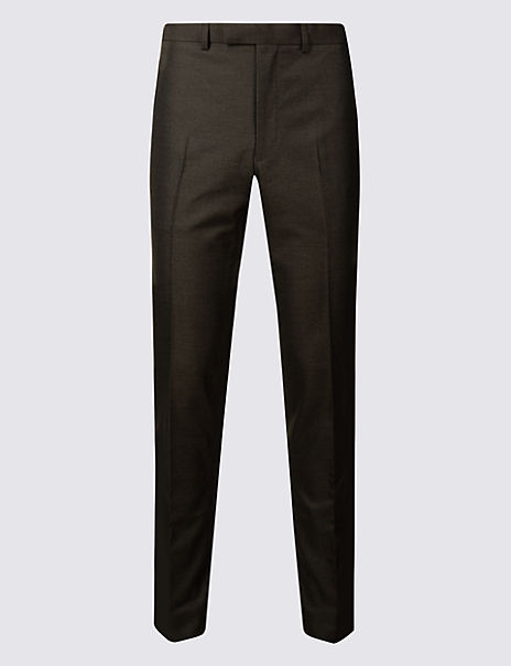 Charcoal Skinny Fit Trousers