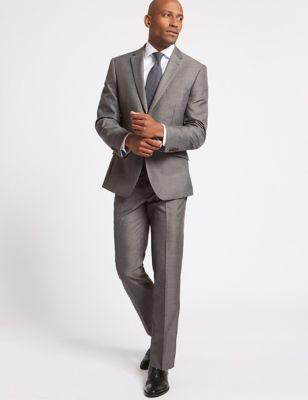 Grandes tailles – Veste grise coupe standard