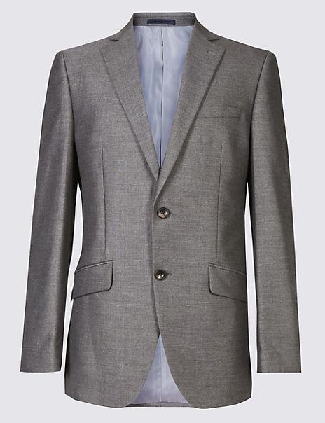 Big & Tall Grey Tailored Fit Jacket
