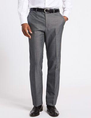 Grandes tailles– Pantalon gris coupe ajustée