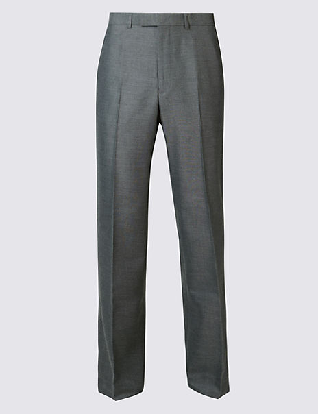 Big & Tall Grey Tailored Fit Trousers