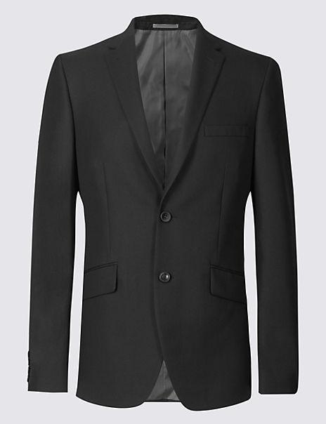 Big & Tall Black Tailored Fit Jacket