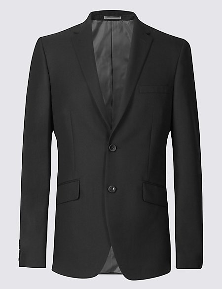 Big & Tall Black Tailored Fit Jacket