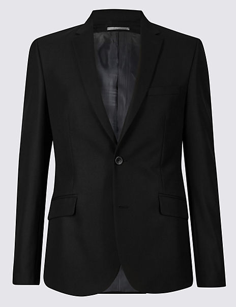 Black Skinny Fit Jacket