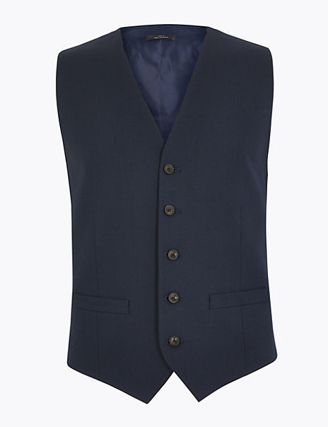 Tailored Fit Waistcoat with Stretch