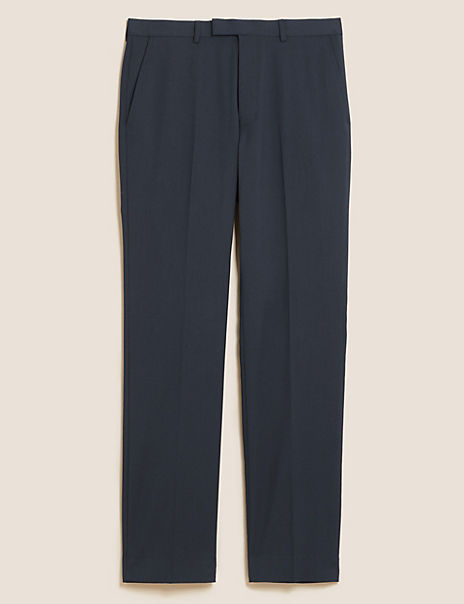Tailored Fit Trousers with Stretch