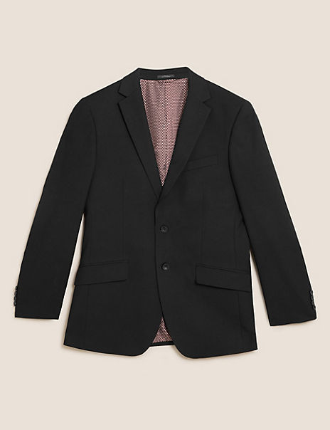Tailored Fit Jacket with Stretch