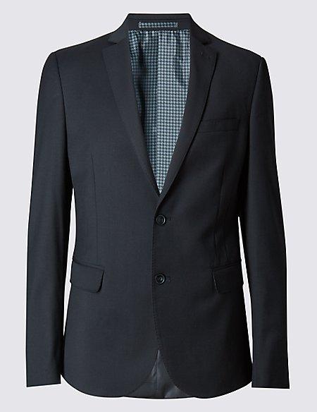 Modern Slim 2 Button Twill Jacket