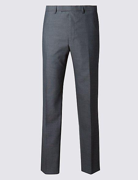 Big & Tall Grey Slim Fit Trousers