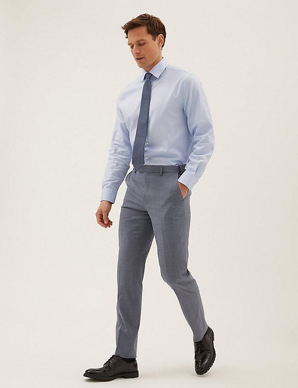 Modré kalhoty The Ultimate mírně projmutého střihu
