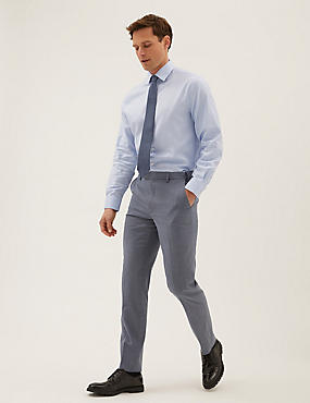 سروال أزرق عالي الجودة بمقاس حسب الطلب