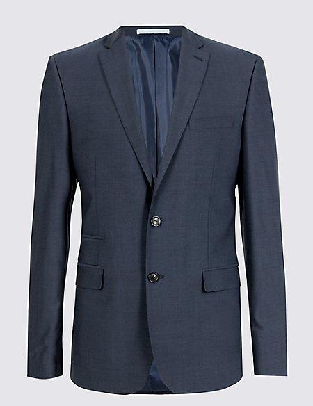 Indigo Slim Fit Jacket