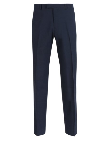 Indigo Tailored Fit Trousers