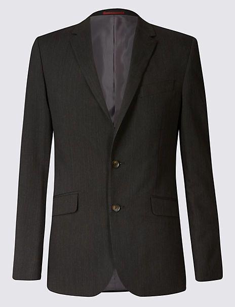 Charcoal Slim Fit Jacket