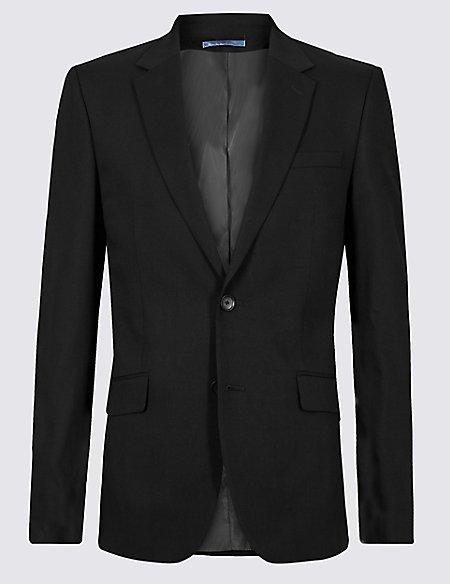 Black Slim Fit Jacket