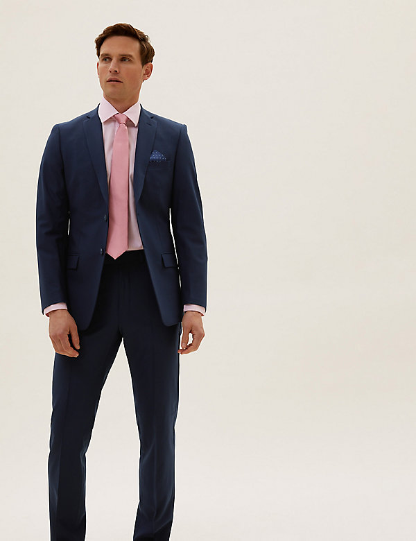 The Ultimate Navy Slim Fit Jacket