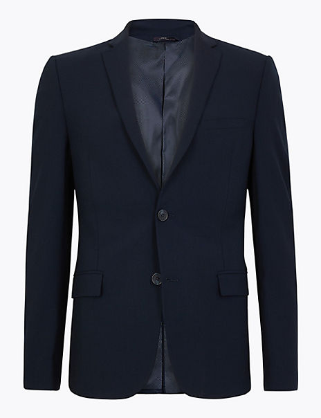 The Ultimate Navy Skinny Fit Jacket