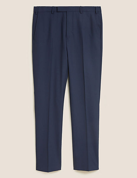 The Ultimate Navy Slim Fit Trousers