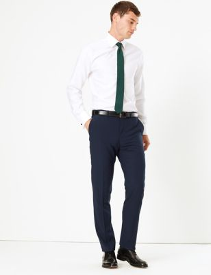The Ultimate Big & Tall Navy Slim Fit Trousers