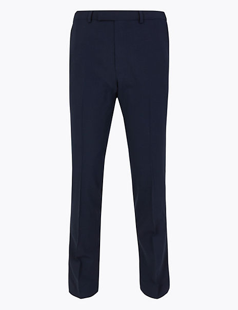 The Ultimate Navy Skinny Fit Trousers