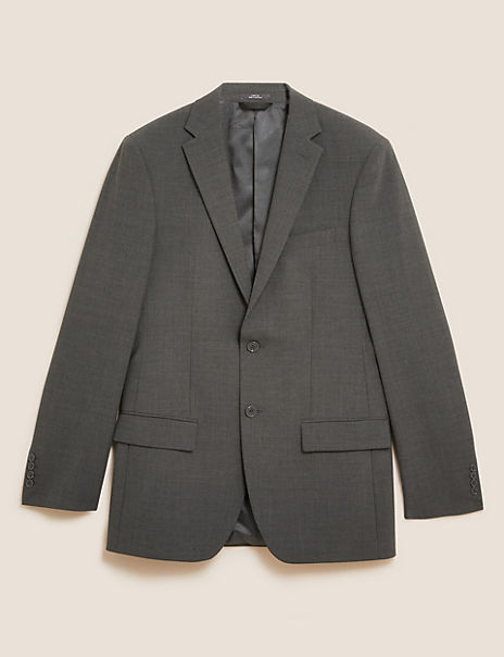 The Ultimate Charcoal Regular Fit Jacket