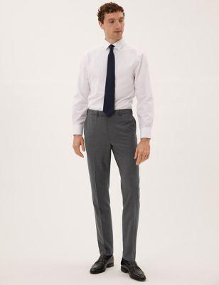 The Ultimate - Pantalón carbón de corte sastre