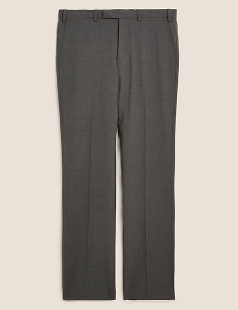 The Ultimate Charcoal Regular Fit Trousers