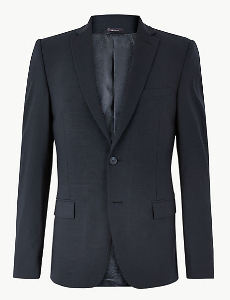 The Ultimate Big & Tall Navy Slim Fit Jacket