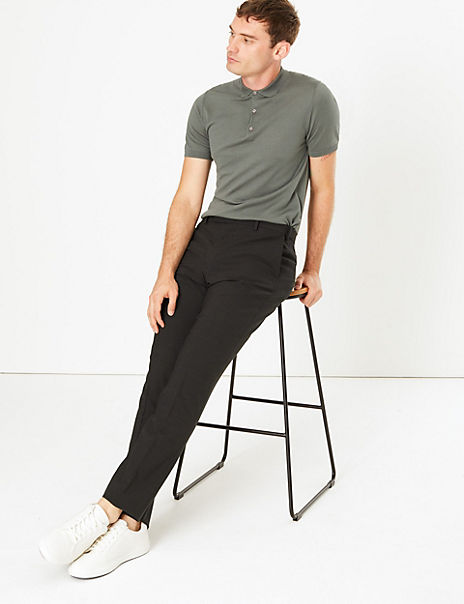 The Ultimate Big & Tall Grey Slim Fit Trousers