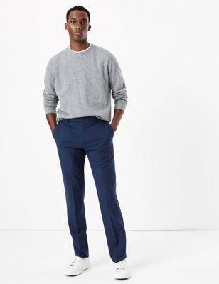 The Ultimate Blue Skinny Fit Trousers