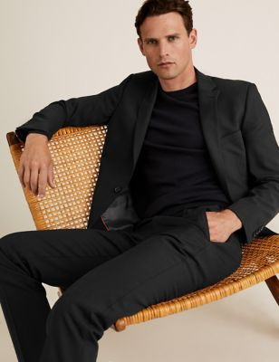 The Ultimate Black Slim Fit Jacket
