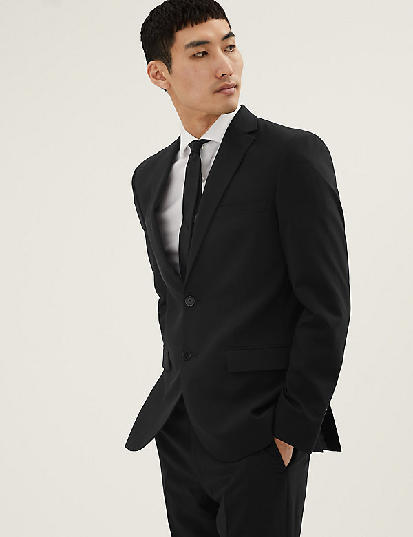 The Ultimate Black Tailored Fit Jacket