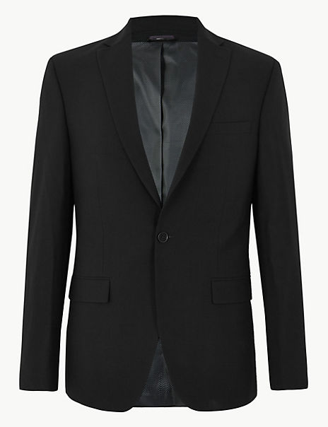 The Ultimate Black Regular Fit Jacket