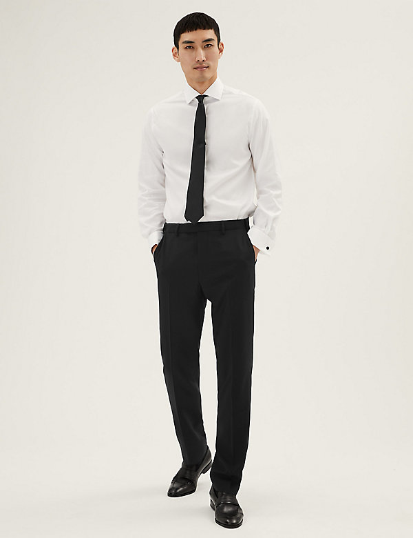 The Ultimate Black Tailored Fit Trousers