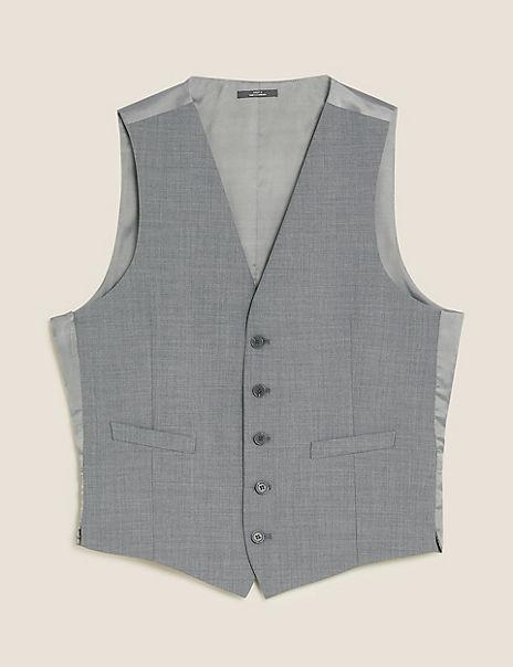 The Ultimate Grey Slim Fit Waistcoat