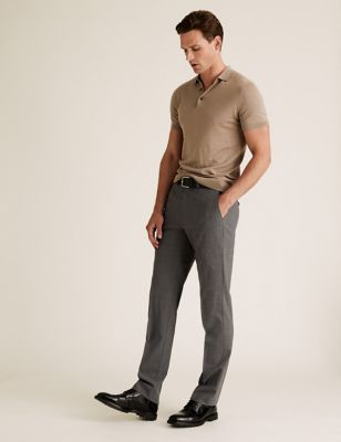 The Ultimate Grey Tailored Fit Trousers