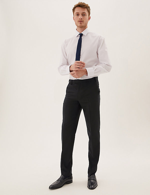 The Ultimate Regular Fit Wool Trousers