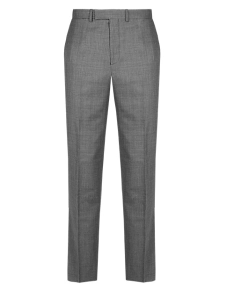 Ultimate Performance Flat Front Trousers with Wool