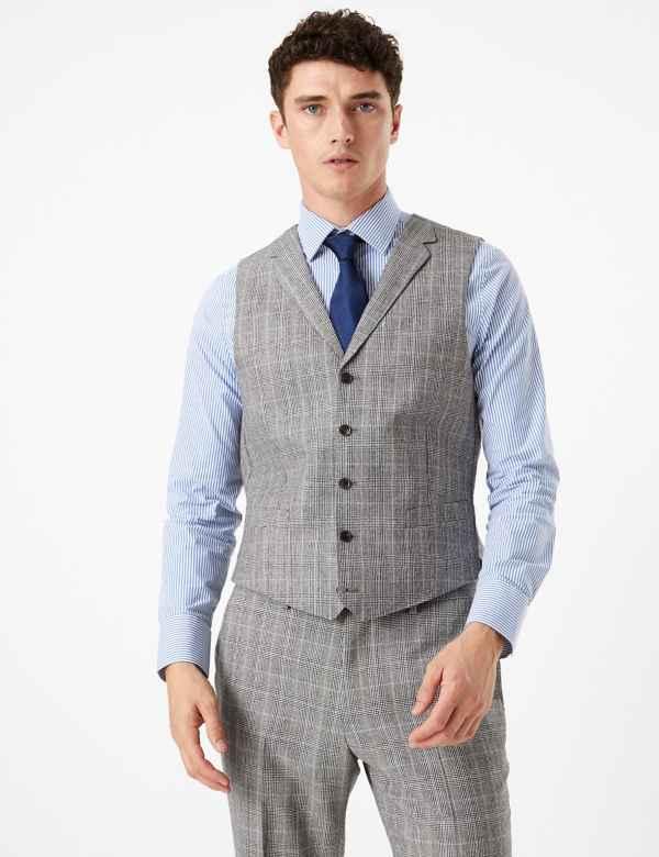 a6b6db17228 Mens Waistcoats | M&S