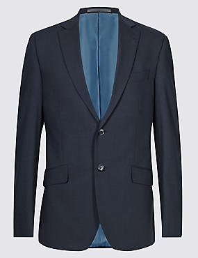Navy Slim Fit Jacket