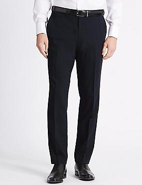 Big & Tall Navy Slim Fit Trousers