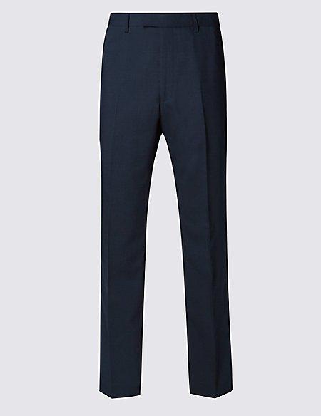 Big & Tall Navy Regular Fit Trousers